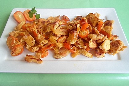Pfannkuchen-Kumquats-Schmarrn