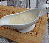 Vanillesauce - schnell & einfach aus Vanillepudding (Bild)