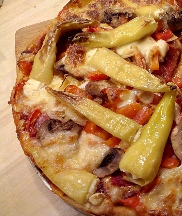 Pizzakuchen Diavolo Von Sowa64 Chefkoch De