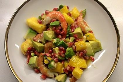 Avocado-Mango-Garnelen-Salat Tropical (Bild)