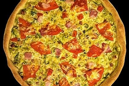 Pizza Lauchkuchen