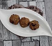 Haselnuss-Sultaninen-Kekse (Bild)