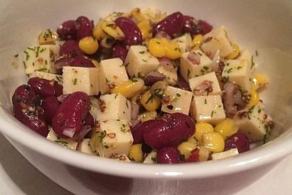 Partysalat mit Honig-Senf-Dressing (Bild)