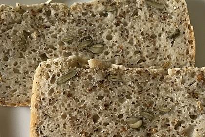 Glutenfreies Reisbrot ohne Fertigmehlmischungen - Clean Cooking