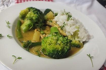 Chicken-Curry schnell und lecker
