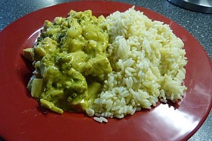 Chicken-Curry schnell und lecker (Bild)