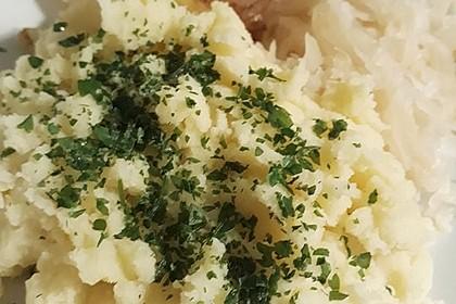 Veganes einfaches Kartoffelpüree