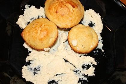Muffins mit Forellenfilet