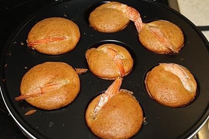 Muffins mit Crevetten
