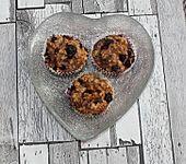 Protein-Haferflocken-Muffins (Bild)