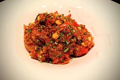Feuriges Quinoa-Chili