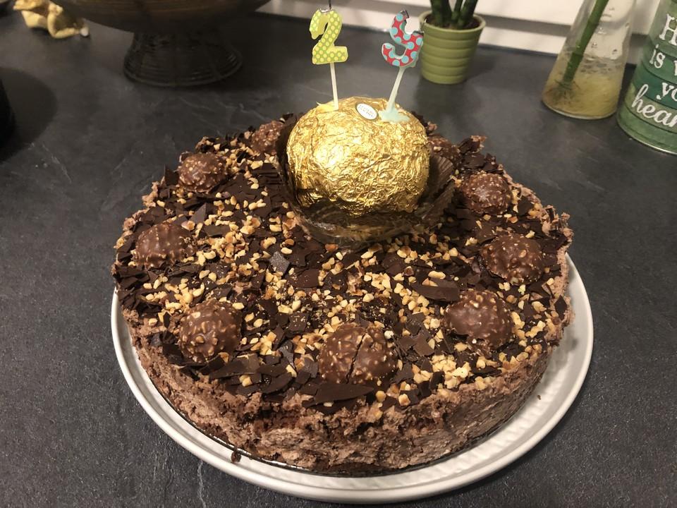 Ferrero Rocher Torte Von Kreativbackenqueen Chefkoch De