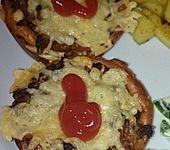 Cheeseburger-Muffins (Bild)