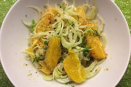 Orangen-Fenchel-Salat (Bild)
