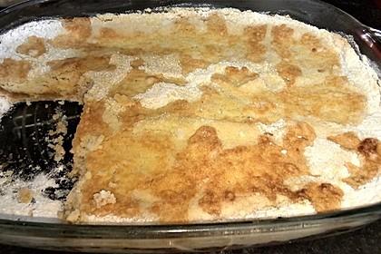 Gestreuter Apfelkuchen (Bild)