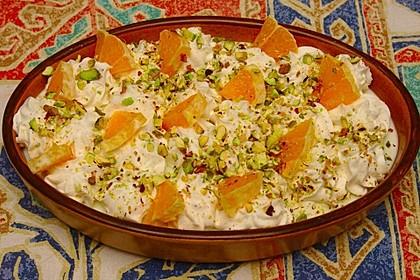 Libanesisches Dessert - Aysch Alssarayah