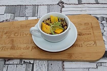 Wildreis-Mango-Salat