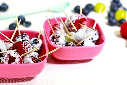 Proteinreiche Frozen-Skyr-Früchte - statt Süßigkeiten (Bild)