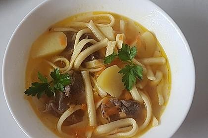 Spätzle-Suppe