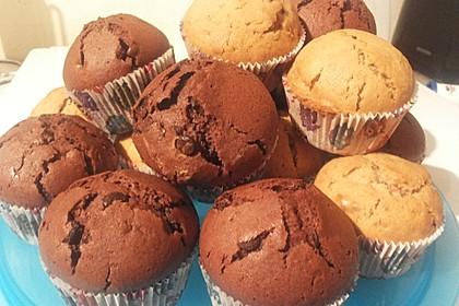 Veganes Muffingrundrezept (Bild)