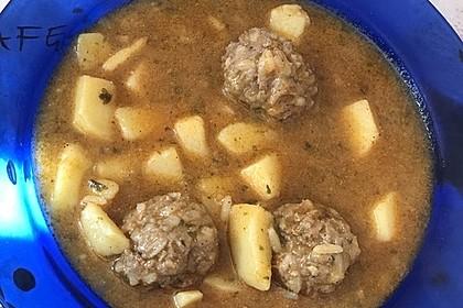 Sulu Köfte - Türkischer Eintopf mit Hackbällchen und Kartoffeln 1