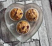 Berberitzen-Cranberry-Muffins (Bild)