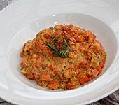 Möhren-Curry-Risotto (Bild)