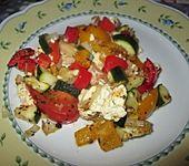Buntes Gemüse aus dem Ofen (Bild)