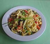 Sahne-Spätzle mit Buttergemüse (Bild)