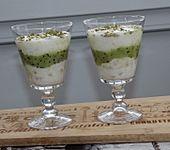 Bananen-Joghurt-Kiwi-Dessert (Bild)
