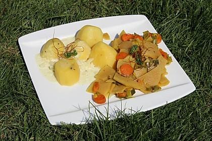 Kartoffelgemüse mit Schmand 1