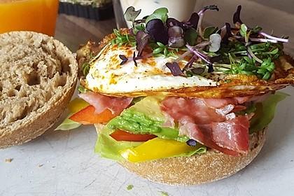 Avocado Frühstücks-Burger
