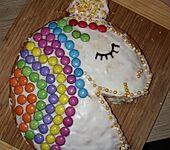 Einhorn-Kuchen (Bild)