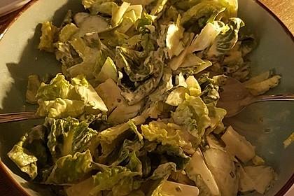 Blattsalat mit Roter Bete 1