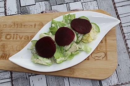 Blattsalat mit Roter Bete
