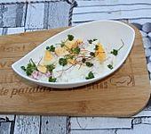Eiersalat mit Paprika und Mais (Bild)