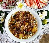 Gelbes thailändisches Rindfleischcurry - Gäng Garrieh Nüa (Bild)