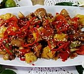 Hühnerbrust mit Ananas - Ock Gai Sapparot (Bild)