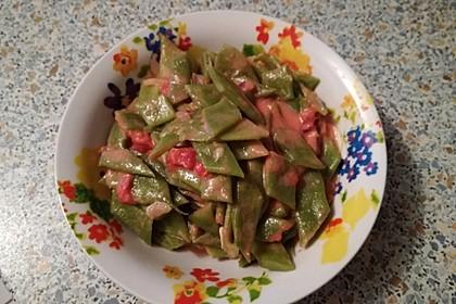 Grüne Bohnen in Tomaten-Kokos-Sauce 1
