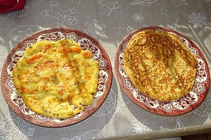 Gemüsepfannkuchen à la Didi (Bild)