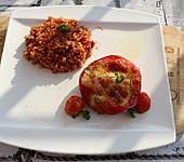 Gefüllte Spitzpaprika mit Hirtenkäse (Bild)