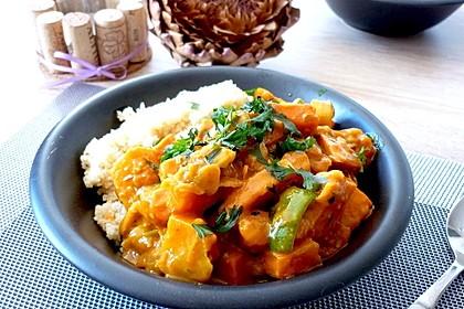 Würziges Süßkartoffel-Curry (Bild)