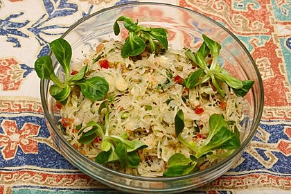 Marokkanischer Weißkohlsalat