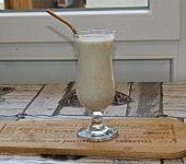 Bananenmilch mit Haferflocken (Bild)