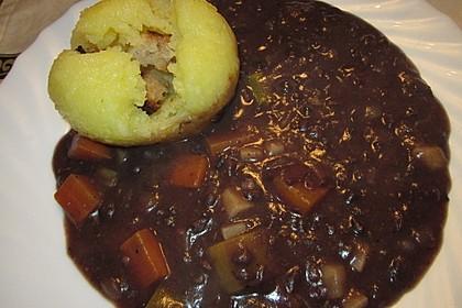 Bohnenkerne und rohe Klöße - fränkisches Armeleute-Gericht