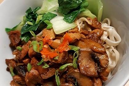 Indonesische Hähnchennudeln - Mie Ayam