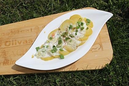 Leichter Kartoffelsalat mit Joghurt 1
