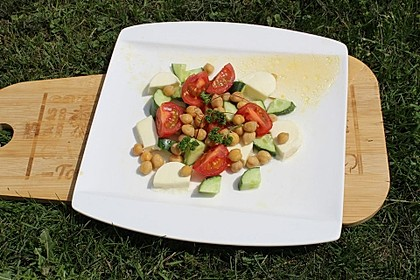 Kichererbsen-Feta-Salat 1