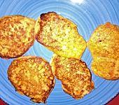 Kartoffelplätzchen aus Kartoffelpüree (Bild)