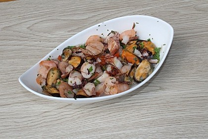 Insalata di mare - Meeresfrüchtesalat